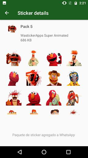 🐸 Animated Stickers Kermit Memes (Wastickerapps) - عکس برنامه موبایلی اندروید