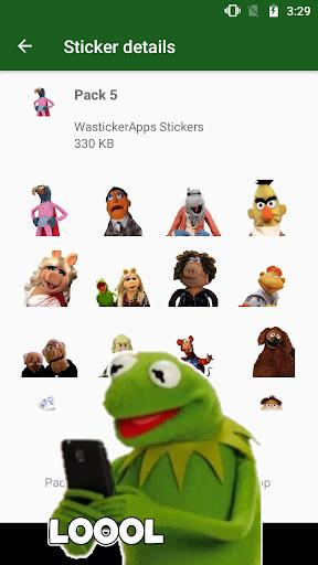 WAstickerApps TheMuppetstickers Memes - عکس برنامه موبایلی اندروید