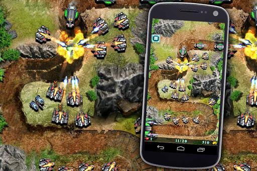 Galaxy Defense (Tower Game) - عکس بازی موبایلی اندروید