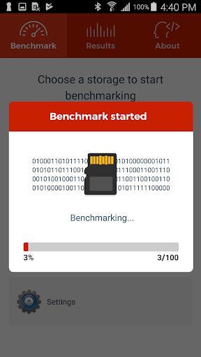 A1 SD Bench - عکس برنامه موبایلی اندروید