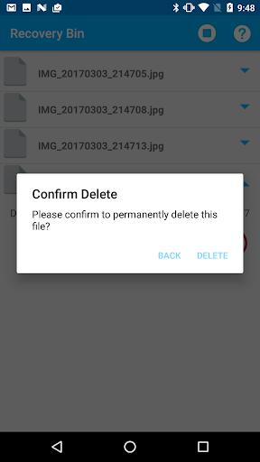 Recycle Bin - عکس برنامه موبایلی اندروید