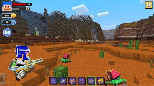 Fire Craft: 3D Pixel World - عکس بازی موبایلی اندروید