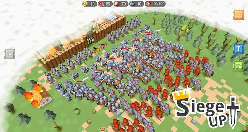 RTS Siege Up! - Medieval Warfare Strategy Offline - عکس بازی موبایلی اندروید