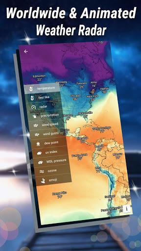 Weather Forecast - Weather Radar & Weather Live - عکس برنامه موبایلی اندروید