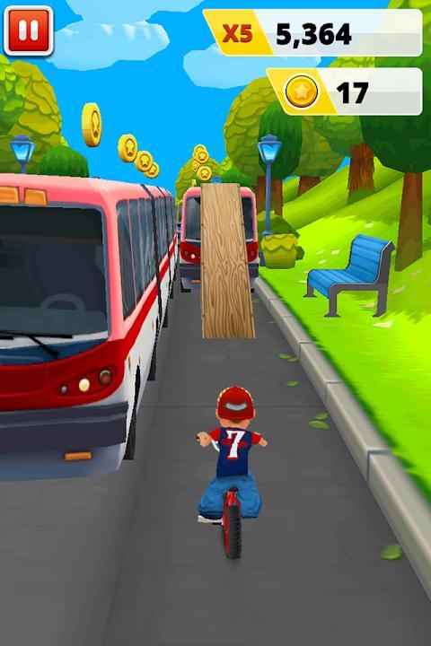 دوچرخه سواری انفجاری - عکس بازی موبایلی اندروید
