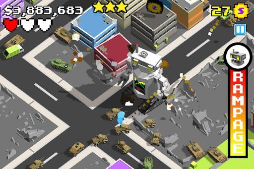 Smashy City X Ultraman - Monster Game - عکس بازی موبایلی اندروید