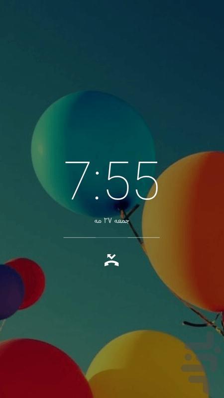 قفل صفحه و نمایشگر اعلان ها - عکس برنامه موبایلی اندروید