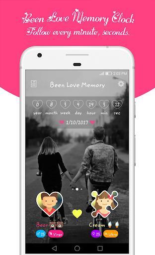 Been Love Memory - Love Counter 2021 - عکس برنامه موبایلی اندروید