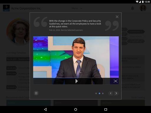 Adobe Captivate Prime - عکس برنامه موبایلی اندروید