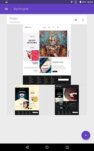Adobe Comp - عکس برنامه موبایلی اندروید