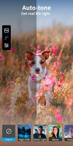 Adobe Photoshop Camera: Photo Editor & Lens Filter - عکس برنامه موبایلی اندروید