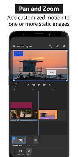 Adobe Premiere Rush: Video - عکس برنامه موبایلی اندروید