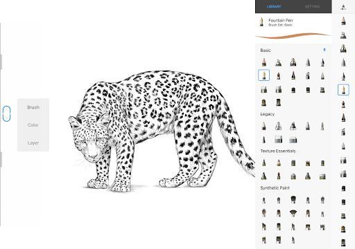 Sketchbook - عکس برنامه موبایلی اندروید