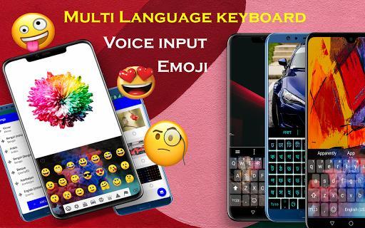 Multiple language 😍 Multilingual keyboard 2020 - عکس برنامه موبایلی اندروید