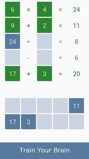Math games - Brain Training - عکس بازی موبایلی اندروید
