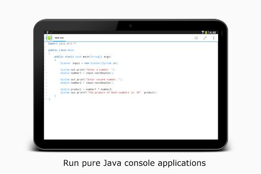 AIDE- IDE for Android Java C++ - عکس برنامه موبایلی اندروید