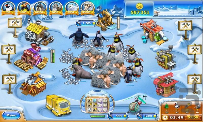 Farm Frenzy 3: Ice Domain - عکس بازی موبایلی اندروید