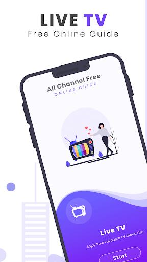 Live TV All Channels Free Online Guide - عکس برنامه موبایلی اندروید