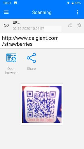 QR Code Reader & Barcode Scanner - عکس برنامه موبایلی اندروید