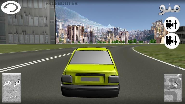 تست رانندگی با پراید - عکس بازی موبایلی اندروید