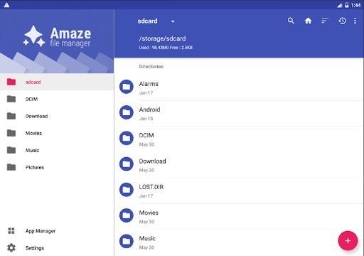 Amaze File Manager - عکس برنامه موبایلی اندروید