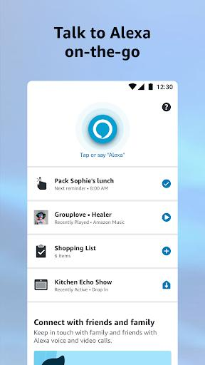 Amazon Alexa - عکس برنامه موبایلی اندروید