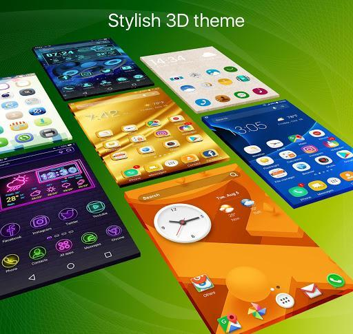 Ace Launcher - 3D Themes&Wallpapers - عکس برنامه موبایلی اندروید