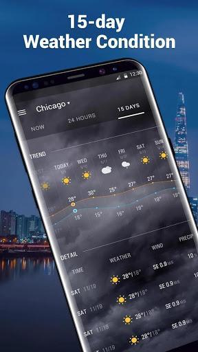 Amber Weather Elite - عکس برنامه موبایلی اندروید
