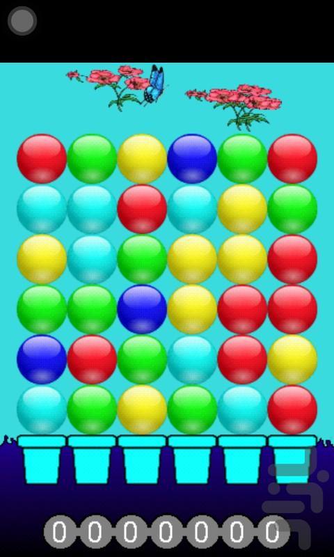 بازی توپ ها - عکس بازی موبایلی اندروید