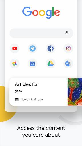 Google Chrome: Fast & Secure - Image screenshot of android app