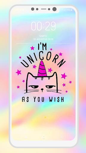 Kawaii Unicorn Wallpapers - عکس برنامه موبایلی اندروید