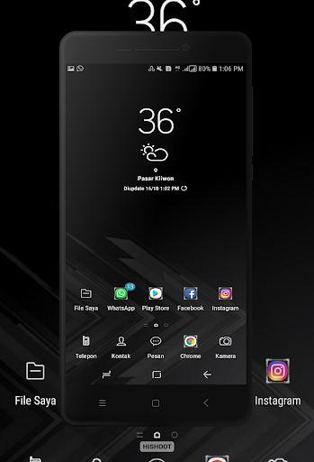 BLACK Wallpaper - عکس برنامه موبایلی اندروید