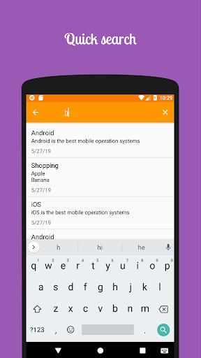 Simple Notes - عکس برنامه موبایلی اندروید
