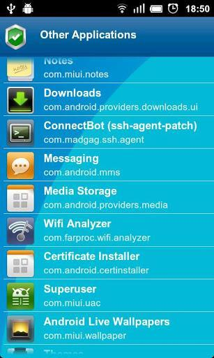 Anti Spy Mobile Free - عکس برنامه موبایلی اندروید