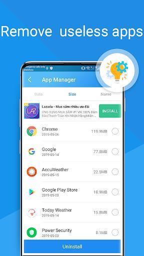 Antivirus  - آنتی ویروس، قفل برنامه و خنک کنندهی گوشی - عکس برنامه موبایلی اندروید
