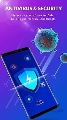 Antivirus & Virus Cleaner, Applock, Clean, Booster - عکس برنامه موبایلی اندروید
