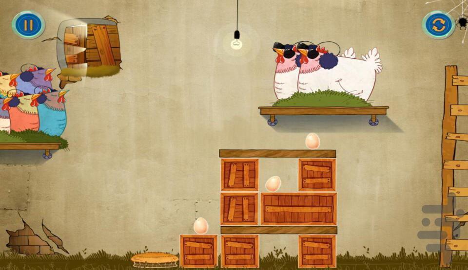 دزدان تخم مرغ - عکس بازی موبایلی اندروید