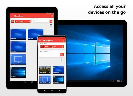 AnyDesk Remote Desktop Software - عکس برنامه موبایلی اندروید