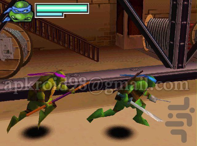 لاک پشت های نینجا - عکس بازی موبایلی اندروید