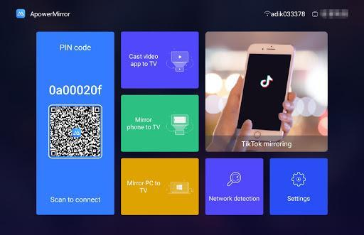 ApowerMirror- Mirror your screen on TV - عکس برنامه موبایلی اندروید