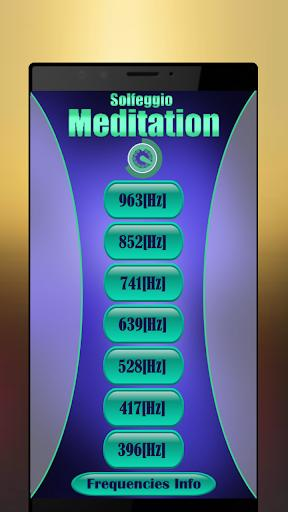 Solfeggio Frequencies & Binaural Beats Meditation - عکس برنامه موبایلی اندروید