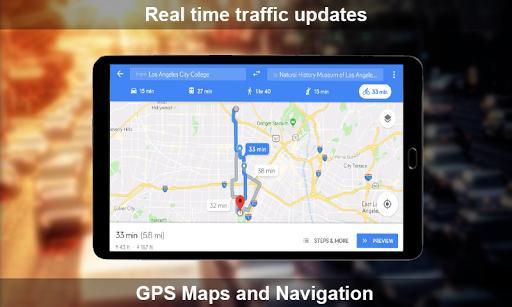 GPS Maps and Navigation - عکس برنامه موبایلی اندروید