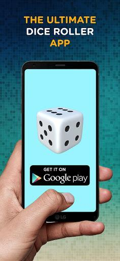 Dice 3D - عکس برنامه موبایلی اندروید