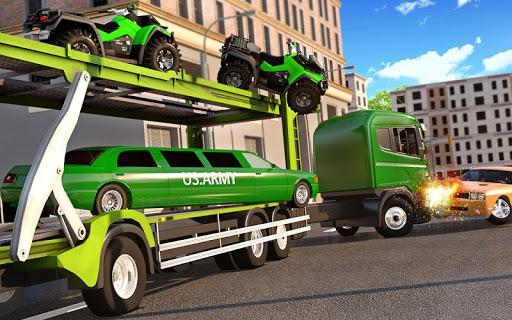 US Army Quad Bike limo Car Transporter Truck - عکس برنامه موبایلی اندروید