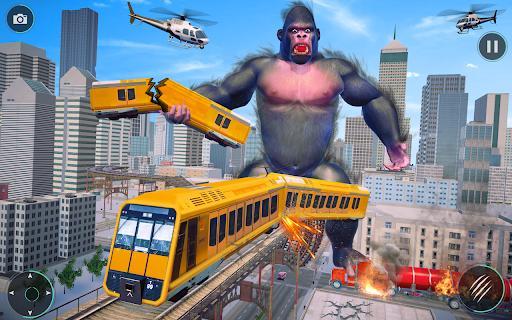 Gorilla Rampage City Attack - عکس برنامه موبایلی اندروید