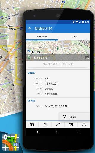 Munzee for Locus Map - عکس برنامه موبایلی اندروید