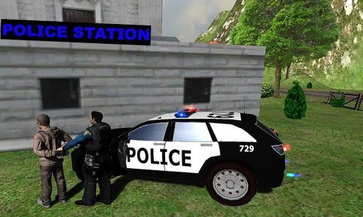 Hill Police vs Gangsters Chase - عکس برنامه موبایلی اندروید
