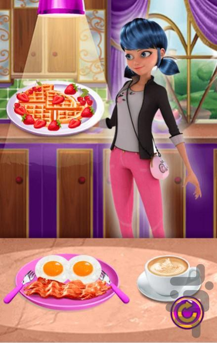 بازی اشپزی دختر کفشدوزکی - عکس بازی موبایلی اندروید