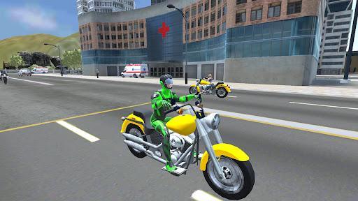 Rope Frog Ninja Hero - Strange Gangster Vegas - عکس بازی موبایلی اندروید