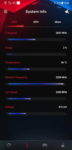 ARMOURY CRATE - عکس برنامه موبایلی اندروید